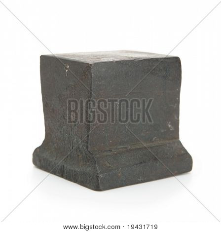 Anvil isolated on white