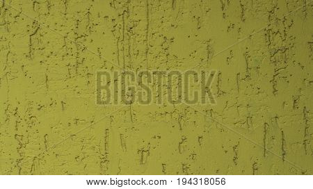 A Beautiful Yellow Putty On The Wall Is Depicted