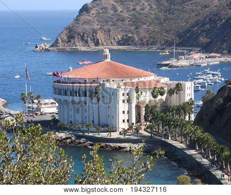 LOS ANGELES - APR 26:  Catalina Casino at Catalina Film Festival on August 26, 2014 in Avalon, Catalina Island, CA