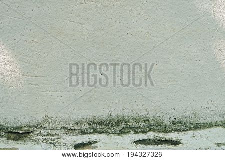 Background Pattern Dirty White Stucco Wall for Background or Texture with Copy Space for Text Decorated.
