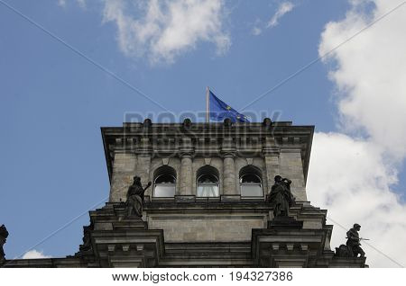 Berlin /Germany - 03jULY 2017 2017. Reichtag / Bundestag in Berlin Germany. (Photo.Francis Joseph Dean/Deanpictures)