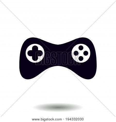 Gamepad icon. Vector. Flat design style. Joypad symbol. poster