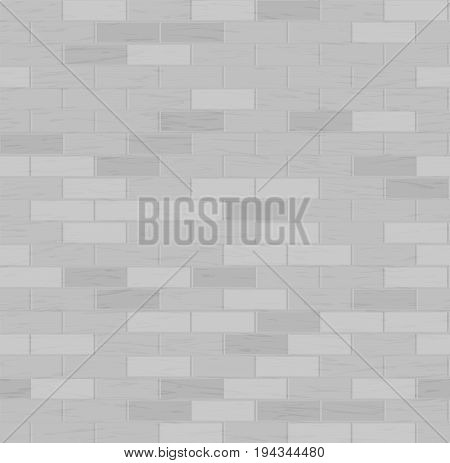 Brick Seamless Vector. Red Wall Illustration Brick Wall Texture Pattern
