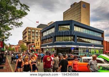 Atlantic National Classic Car Show 2017 Jul 8th in Moncton, New Brunswick, Canada