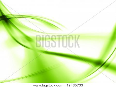 light green abstract composition