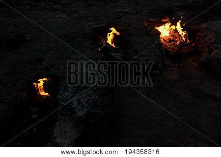 Chimera Fires Near Cirali Olympos Beach