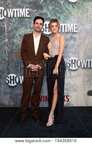 LOS ANGELES - MAY 19:  Jesse Bradford, Andrea Leal at the