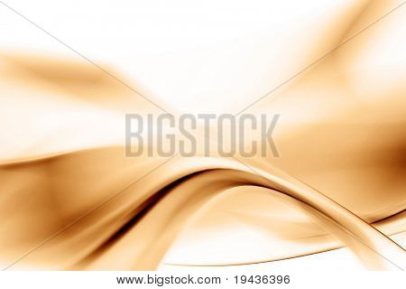 brown abstract composition
