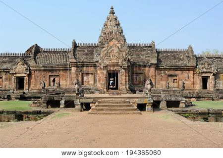 Buriram, Thailand - 23 January 2013: Phanom Rung temple the ancient sanctuary in Buriram on Thailand