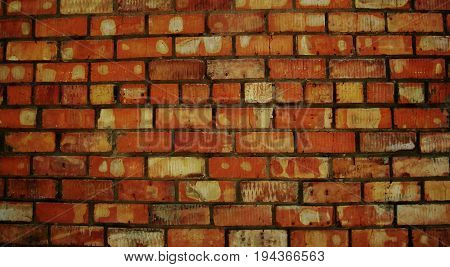 Brick, brick wall texture, brick wall background. New brick wall. New brick background. Brick wall. Firebrick. Grunge, grunge background.