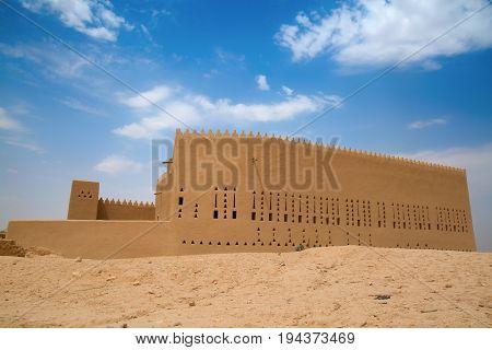 Streets of the old city Diriyah near Ar Riyadh, Kingdom of Saudi Arabia