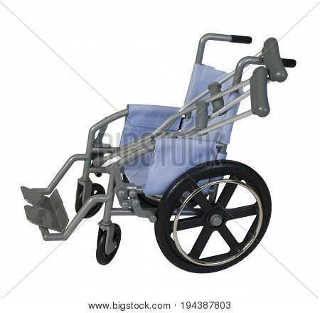 Wheelchair used for Assistance with Crutches - patch included