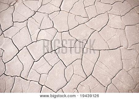 arid cracked earth - global warming effect