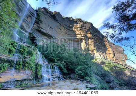 Katoomba Falls, Blue Mountains NSW Australia