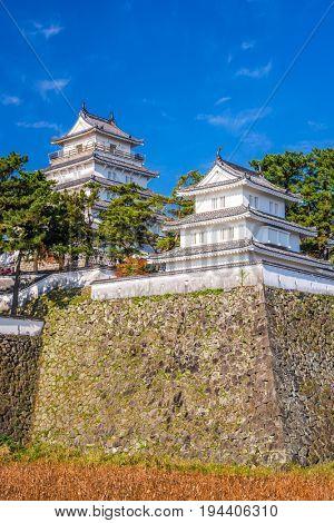 Shimabara, Nagasaki, Japan Castle.