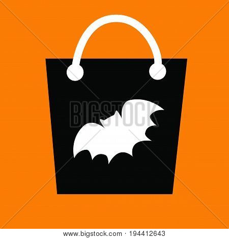 Happy Halloween Treat Goodie Witch Candy Bag