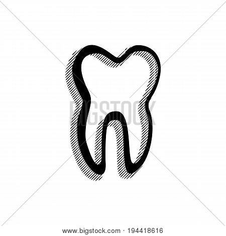 Black Tooth Icon