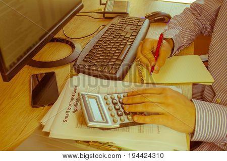 Business loans online. Business loans form. Business loans eligibility criteria - Retro color poster