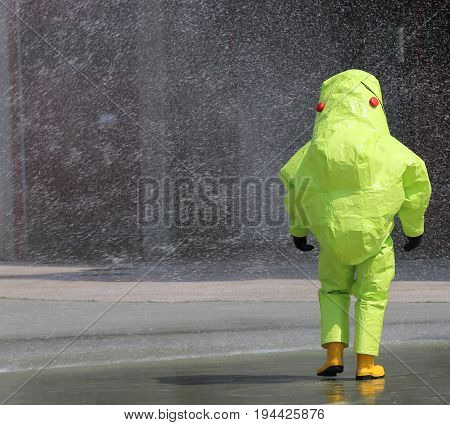 Protective Clothing Against Chemical And Biological Agents Durin