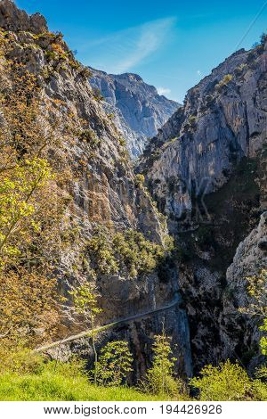 Ruta del Cares in Picos de Europa mountains, Asturias