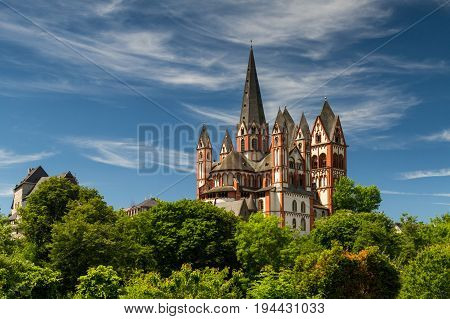 The Romanesque cathedral of Limburg Hesse Germany