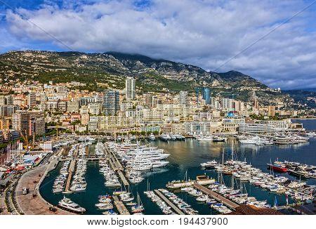 Monaco and Monte Carlo principality, south of France