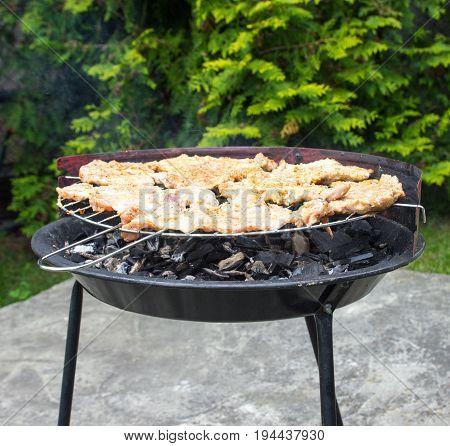 Grilled Pork Neck .