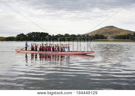 Female Dragon Boat Crew