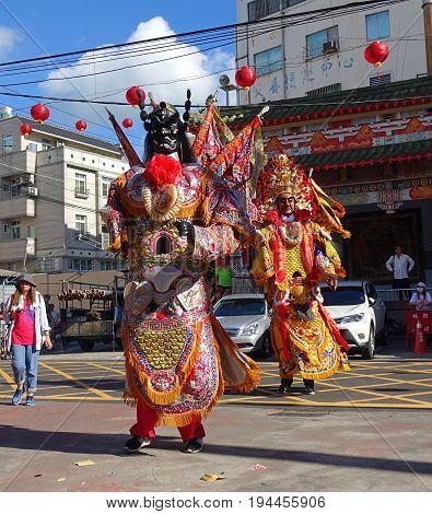 Taiwan Temple Dancers