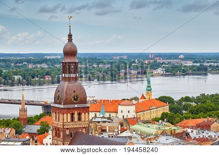 View Of Riga Latvia