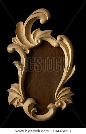 vintage rustic frame
