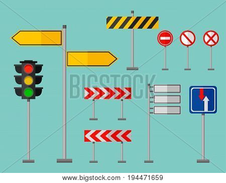 Road Signs Symbols Vector Photo Free Trial Bigstock