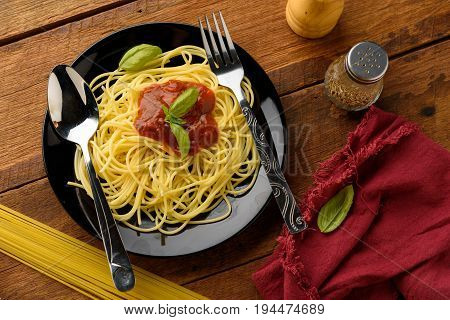 basil; cheese; cherry tomatoes; cooking; eating food; food; garlic; gastronomy; good; health; healthy; ingredients; italian cuisine; juice; meal; mortar; olive oil; parmesan; parmesan cheese; pasta; pasta with tomato sauce; preparation; raw vegetables; sa