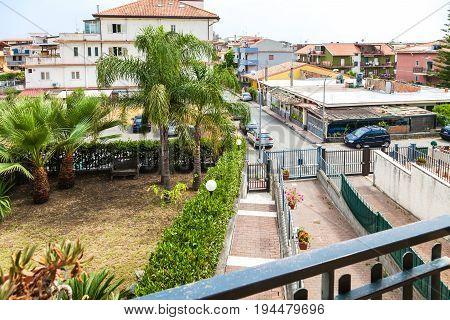 Residential Area In Giardini-naxos Town