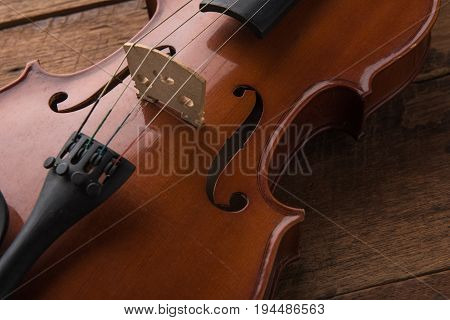 copy space with close up shot of a violin (violin cello symphony)