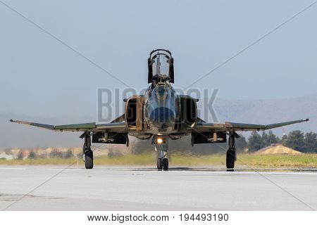 Military F4 Phantom Fighter Jet