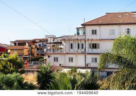 Residential Quarter In Giardini Naxos City