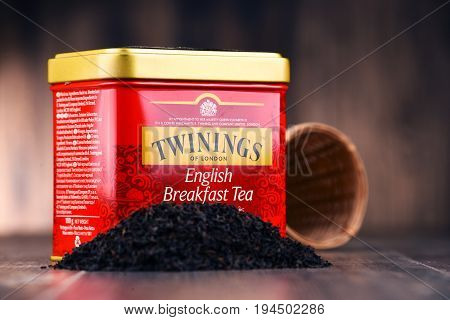Box Of Twinings Tea