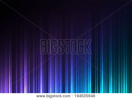 cool color stream abstract line background, digital bar template, technology stream layout, vector illustration
