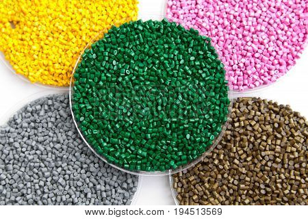 The Plastic Granules. Dye For Polypropylene, Polystyrene In Granules.