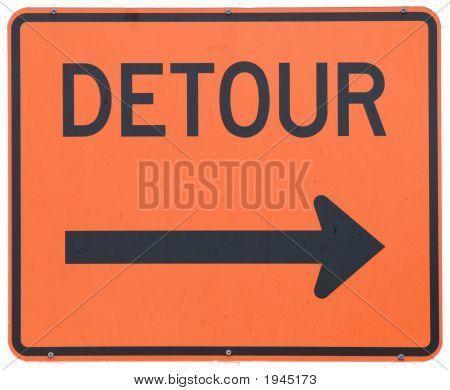 Detour Right