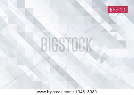 Pattern can be used for background, Abstract geometric background consisting of triangles, Abstract background for design - vector illustration