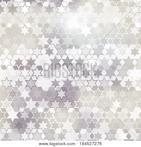 Gray star pattern abstract style for web illustration