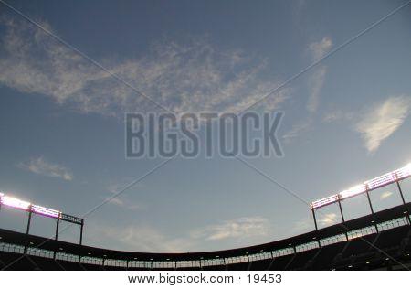Stadium Sunset