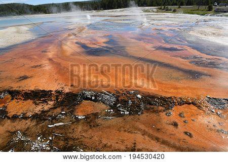 Black Sand Basin, Yellowstone National Park, Wyoming.