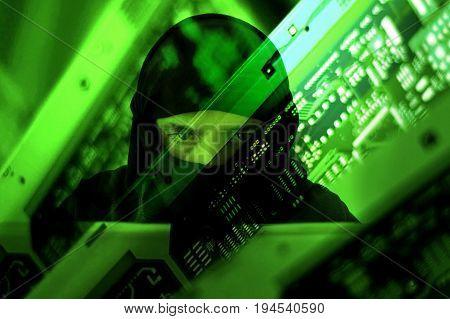 Hacker Muslim Terrorist Attack From Laptop