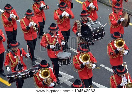 New Zealand Army Band Parade