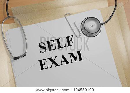 Self Exam - Medical Concept