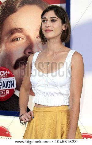 LOS ANGELES - AUG 2:  Lizzy Caplan at the