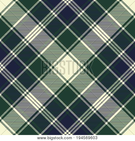 Check abstract ornament plaid seamless pattern. Vector illustration.